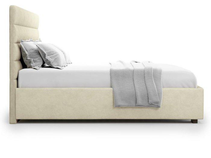 Кровать с подъемным механизмом Karezza 180х200 бежевого цвета