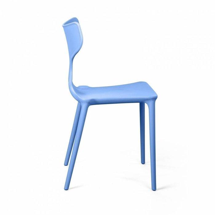 Стул Enzo  голубого цвета