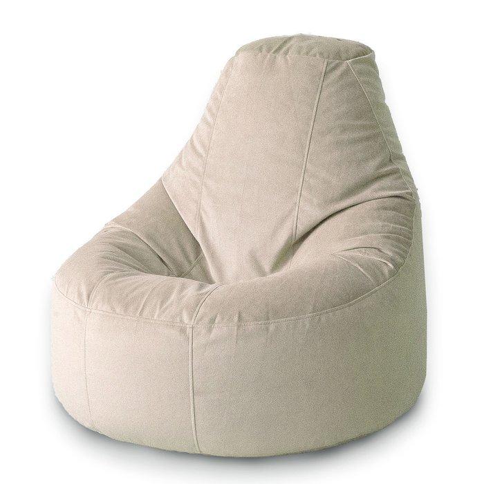 Кресло-мешок Люкс Взбитые сливки сливочного цвета