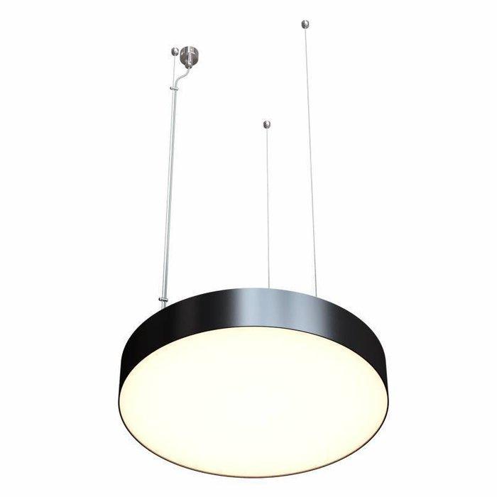 Подвесной светильник Disco 1 черно-белого цвета