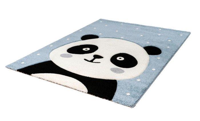 Детский ковер Amigo Panda Blue голубого цвета 80х150