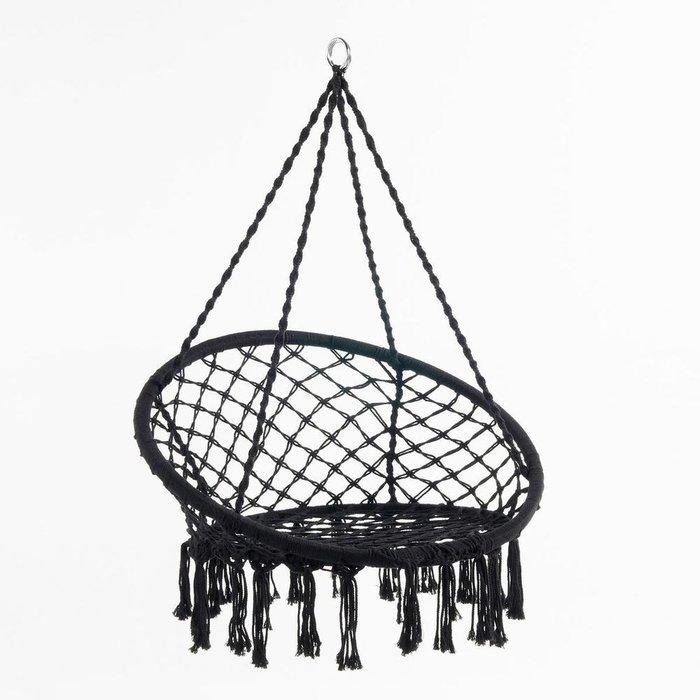 Подвесное кресло Reelak черного цвета