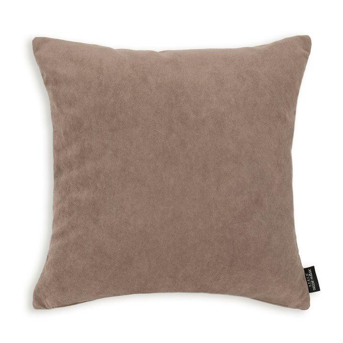 Чехол для подушки Ultra Cocoa цвета какао
