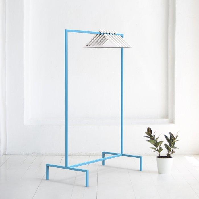 Вешалка напольная Metalframe в голубом цвете