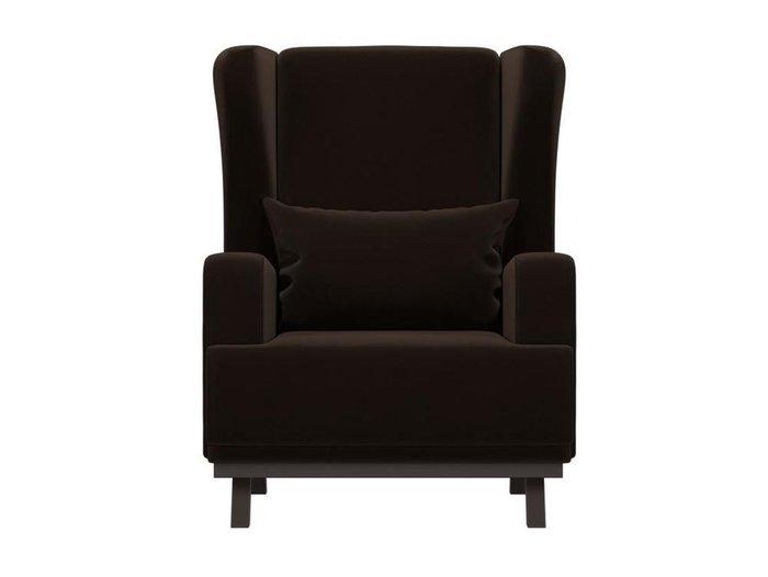 Кресло Джон темно-коричневого цвета
