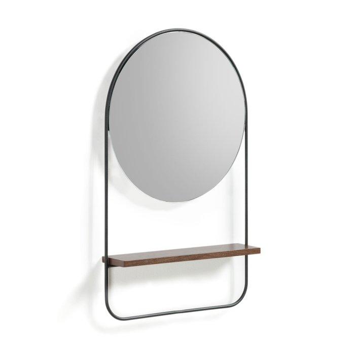 Зеркало Marcolina с полкой