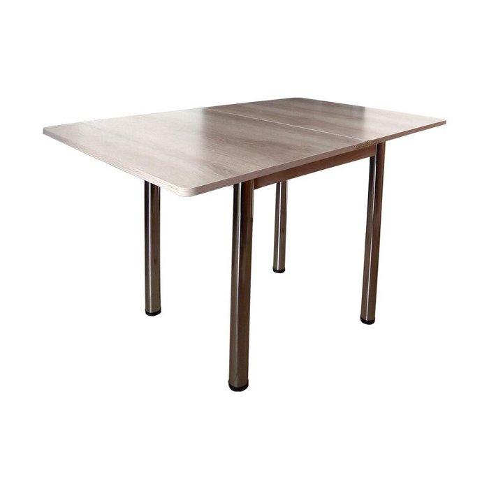 Стол раскладной светло-бежевого цвета