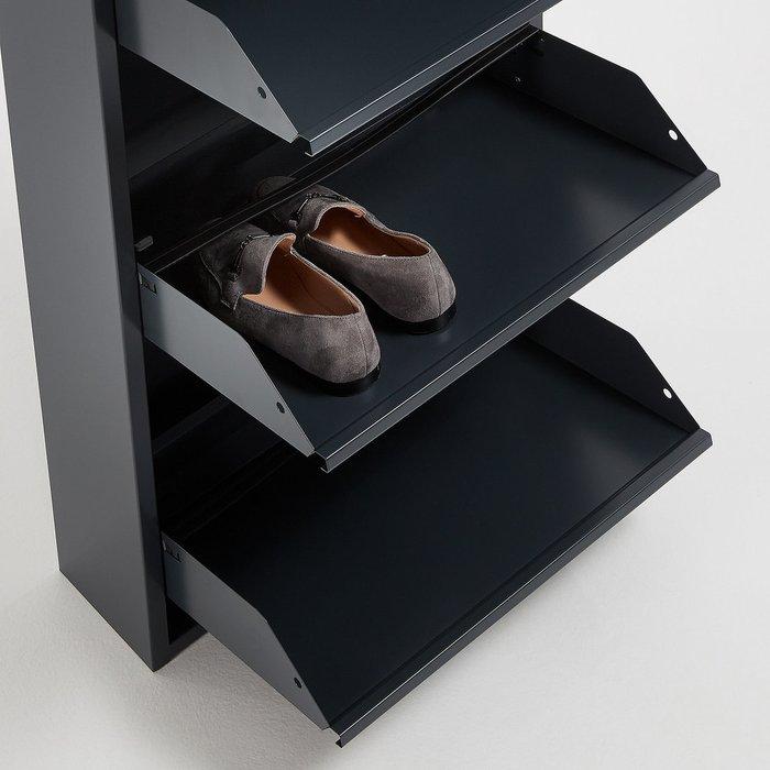 Тумба для обуви Rox графитового цвета