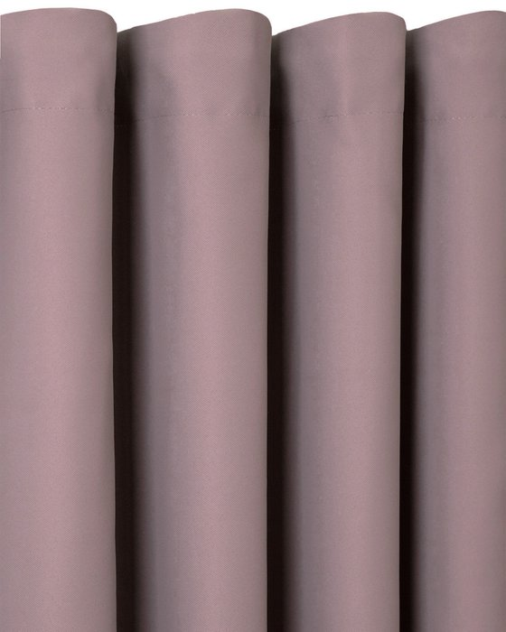 Штора блэкаут Java 170х270 коричнево-фиолетового цвета