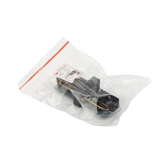Прямой соединитель для шинопровода черного цвета