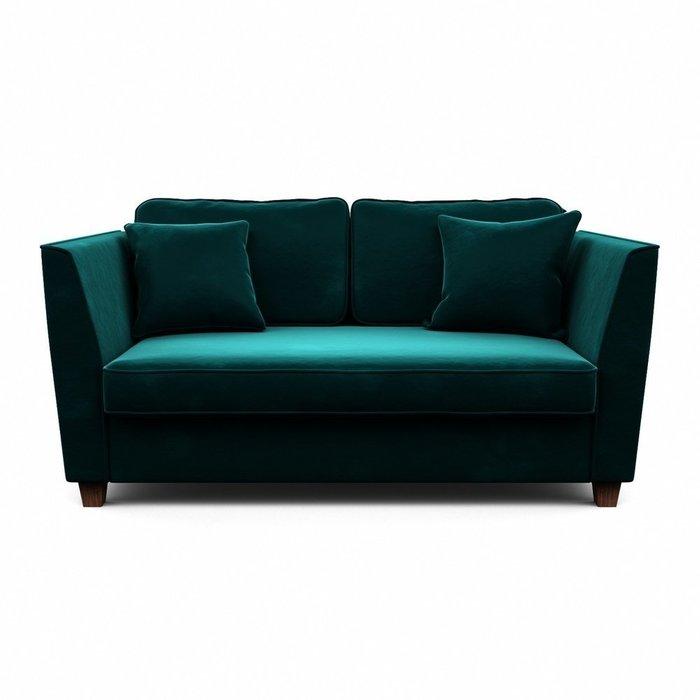 Двухместный диван-кровать Уолтер M зеленого цвета