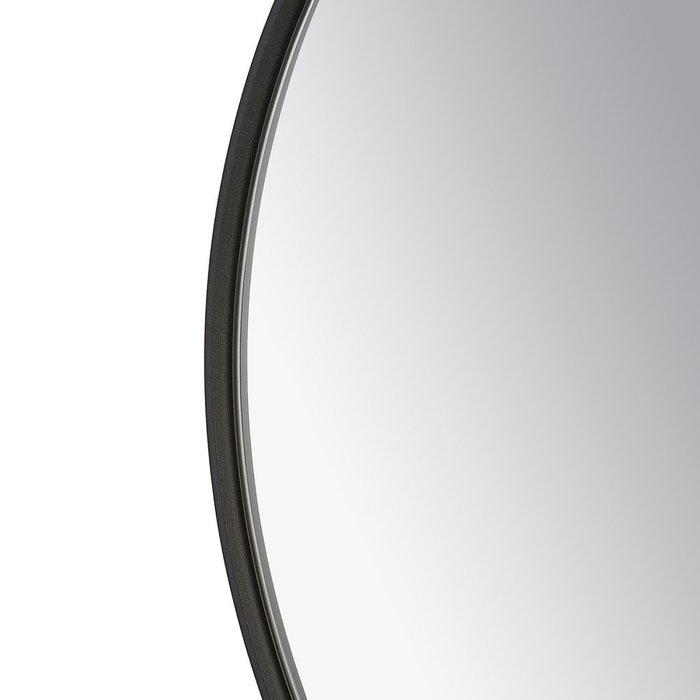 Зеркало настенное Орбита черного цвета