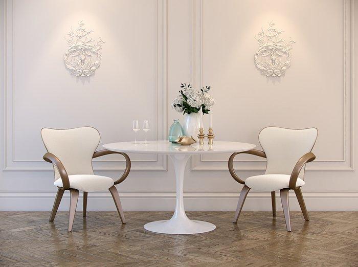 Обеденный стол Apriori T со столешницей цвета орех