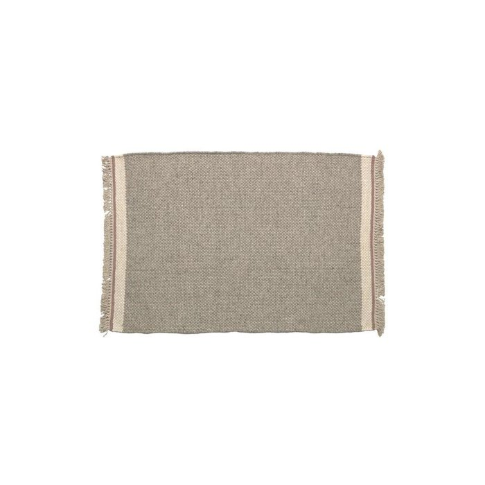 Коврик Nam серого цвета 60x90