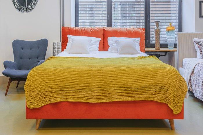 Кровать Trazimeno 160х200 мятного цвета