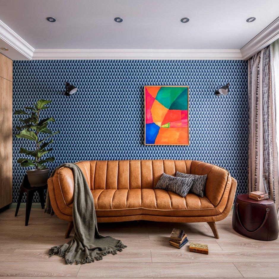 Фотография: Кабинет в стиле Современный, Квартира, Проект недели, Монолитный дом, 3 комнаты, 60-90 метров, Саратов, Quadrum Studio – фото на INMYROOM