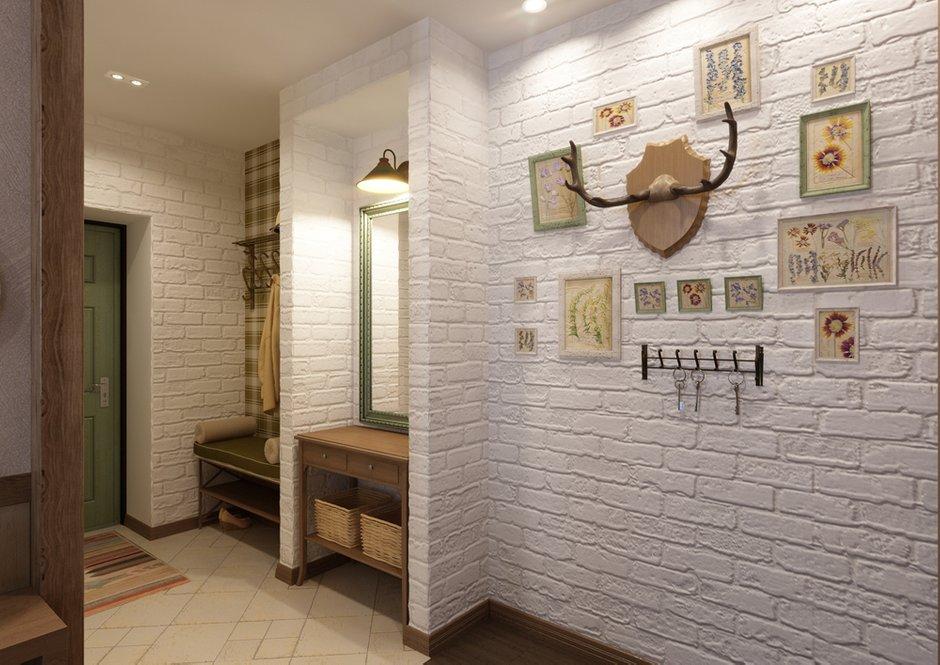 Фотография: Прихожая в стиле Прованс и Кантри, Квартира, Дома и квартиры, IKEA, Проект недели, Деревенский – фото на INMYROOM