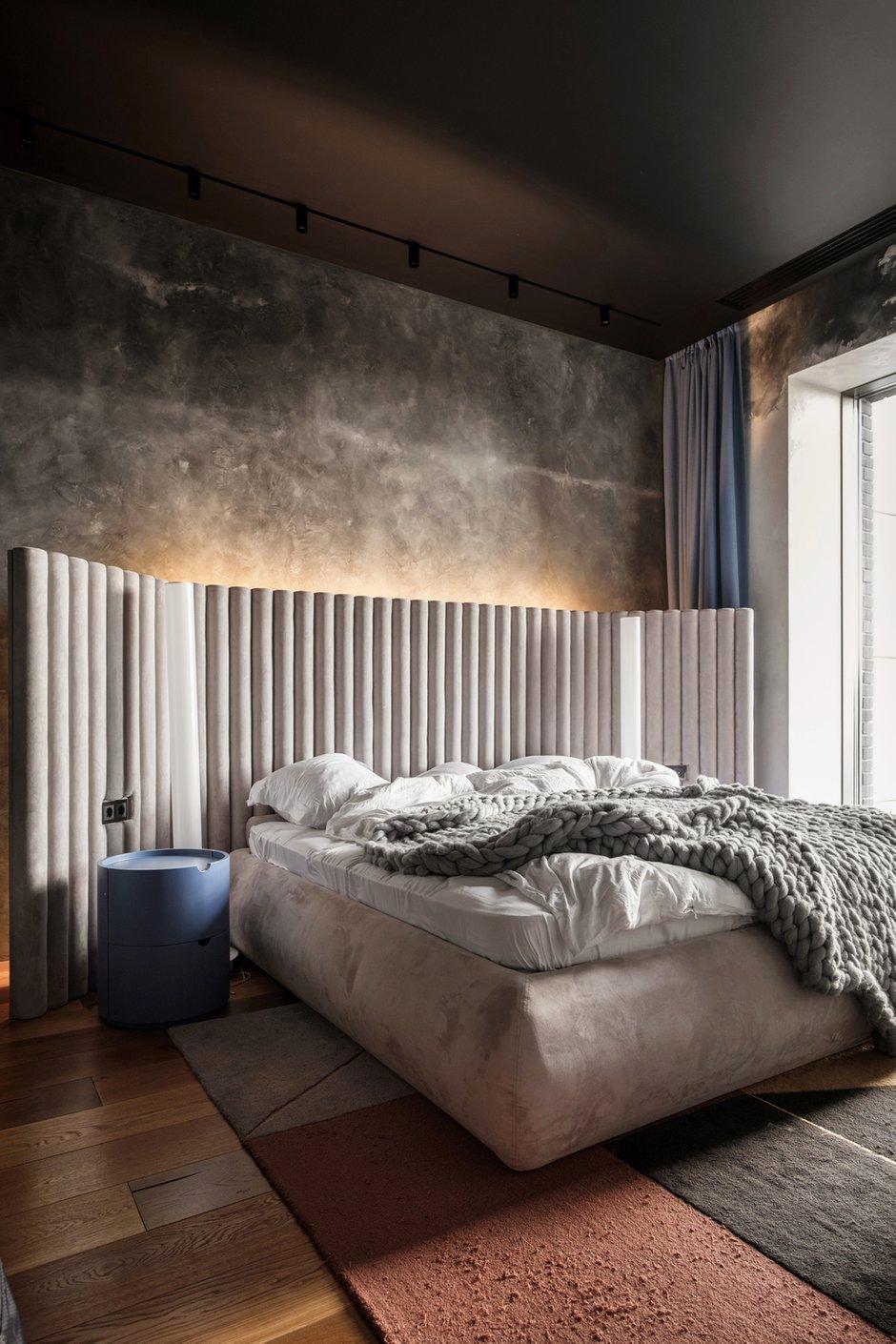 Фотография: Спальня в стиле Лофт, Квартира, Проект недели, Москва, 3 комнаты, Более 90 метров – фото на INMYROOM