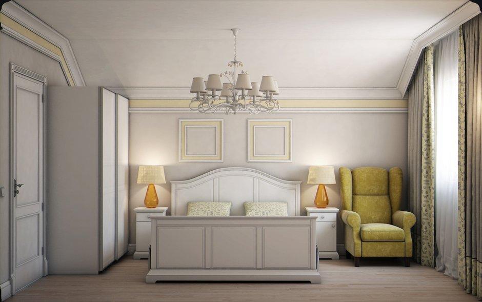 Фотография: Спальня в стиле Классический, Эклектика, Квартира, Проект недели, Марина Саркисян, Подмосковье – фото на INMYROOM