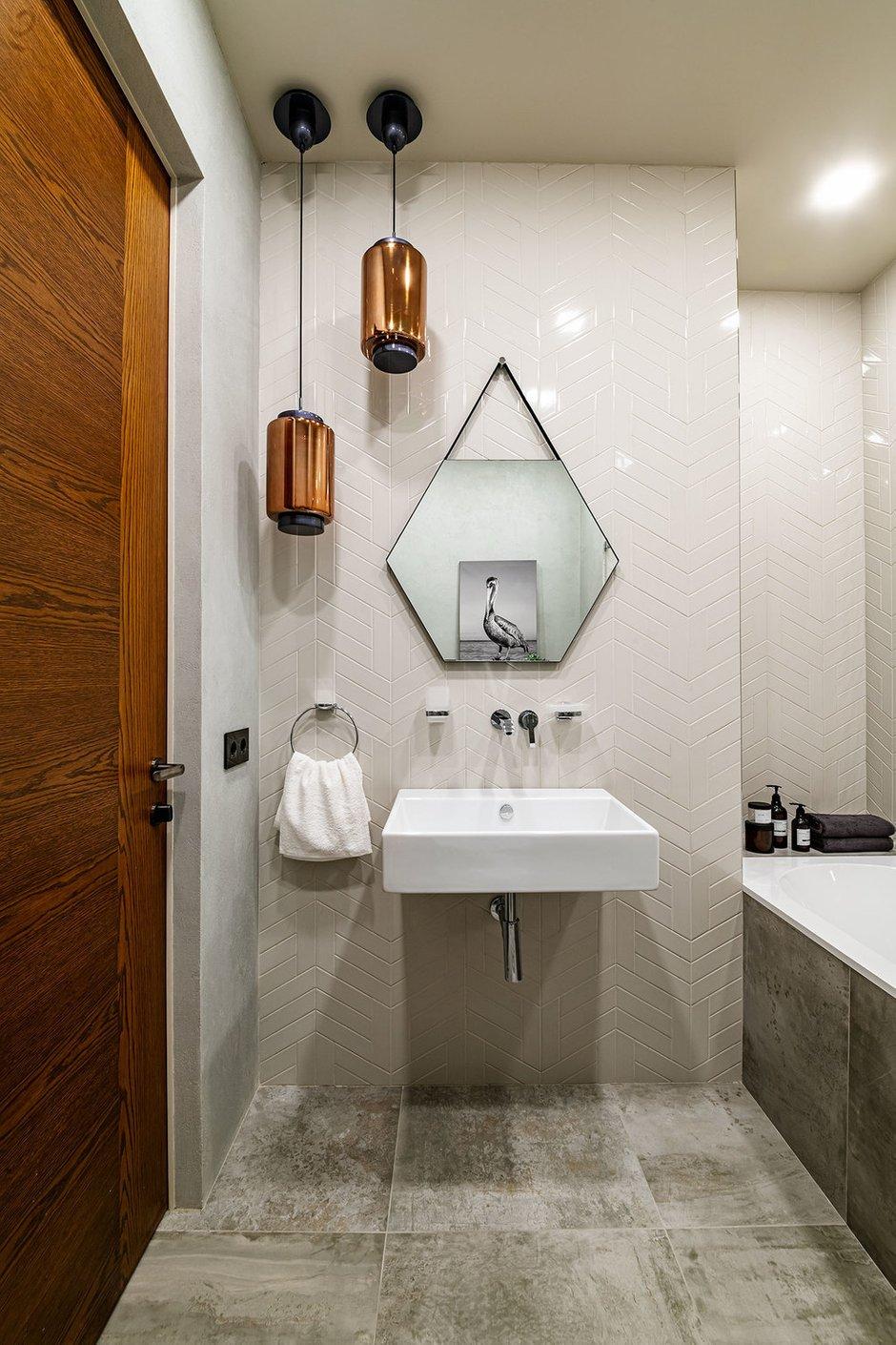 Фотография: Ванная в стиле Современный, Квартира, Проект недели, Москва, 3 комнаты, Более 90 метров, Наталья Широкова – фото на INMYROOM