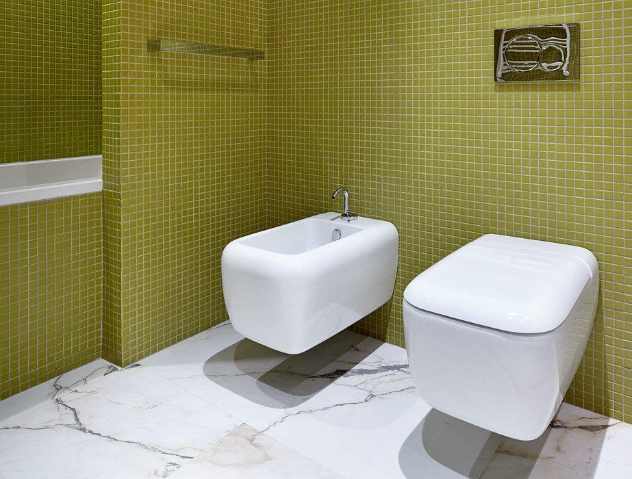 Фотография: Ванная в стиле Современный, Эклектика, Квартира, BoConcept, Дома и квартиры, Проект недели – фото на INMYROOM