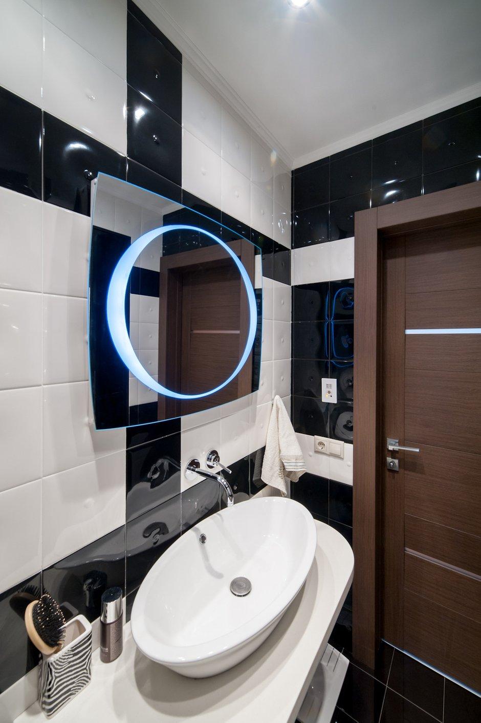 Фотография: Ванная в стиле Современный, Хай-тек, Декор интерьера, Квартира, Дома и квартиры – фото на INMYROOM