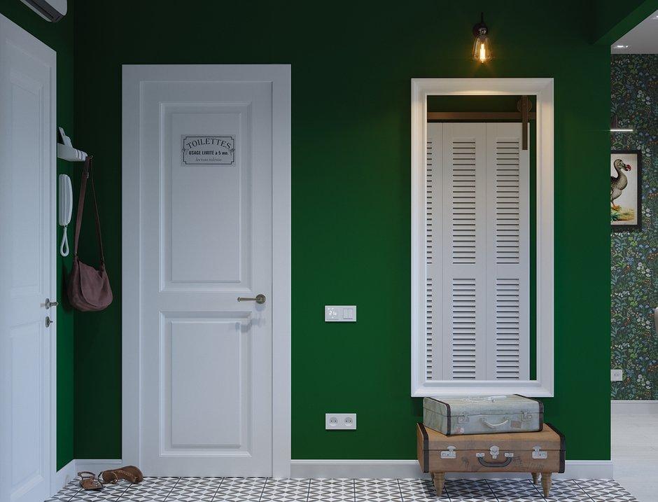 Фотография: Прихожая в стиле Скандинавский, Квартира, Проект недели, Московская область, 1 комната, до 40 метров, Ира Носова – фото на INMYROOM