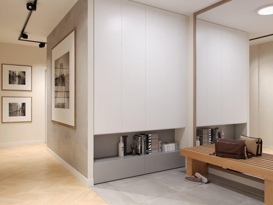 Фотография: Прихожая в стиле Современный, Квартира, Проект недели, Москва, Светлана Старцева, 3 комнаты, Более 90 метров – фото на INMYROOM