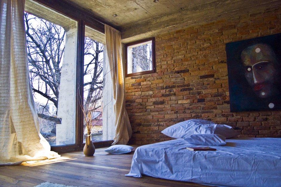 Фотография: Спальня в стиле Лофт, Дом, Дома и квартиры, Минимализм, Проект недели – фото на INMYROOM