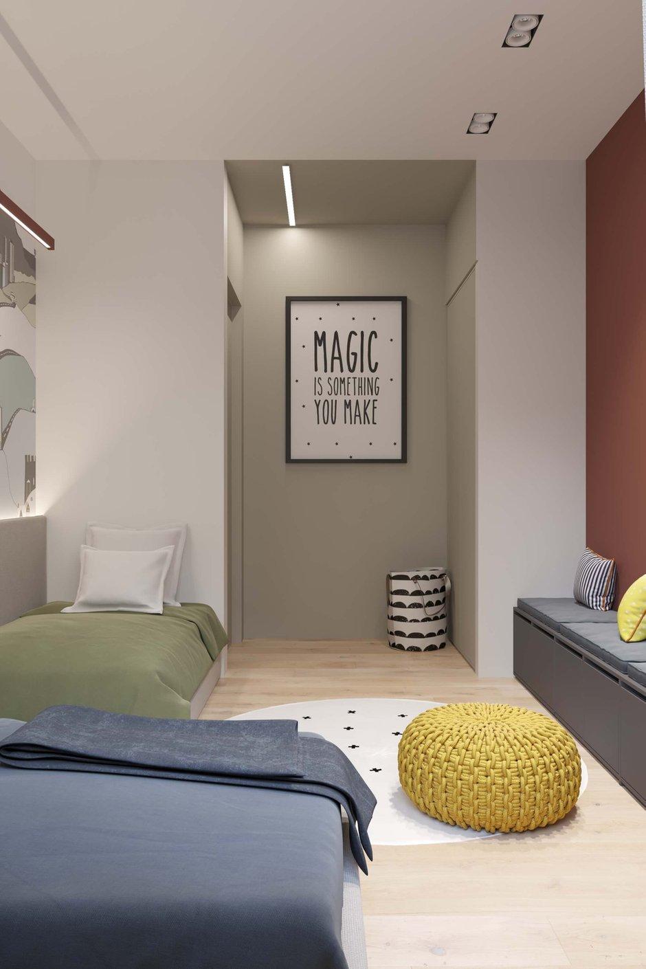 Фотография: Детская в стиле Современный, Квартира, Проект недели, Москва, Geometrium, 4 и больше, Более 90 метров – фото на INMYROOM