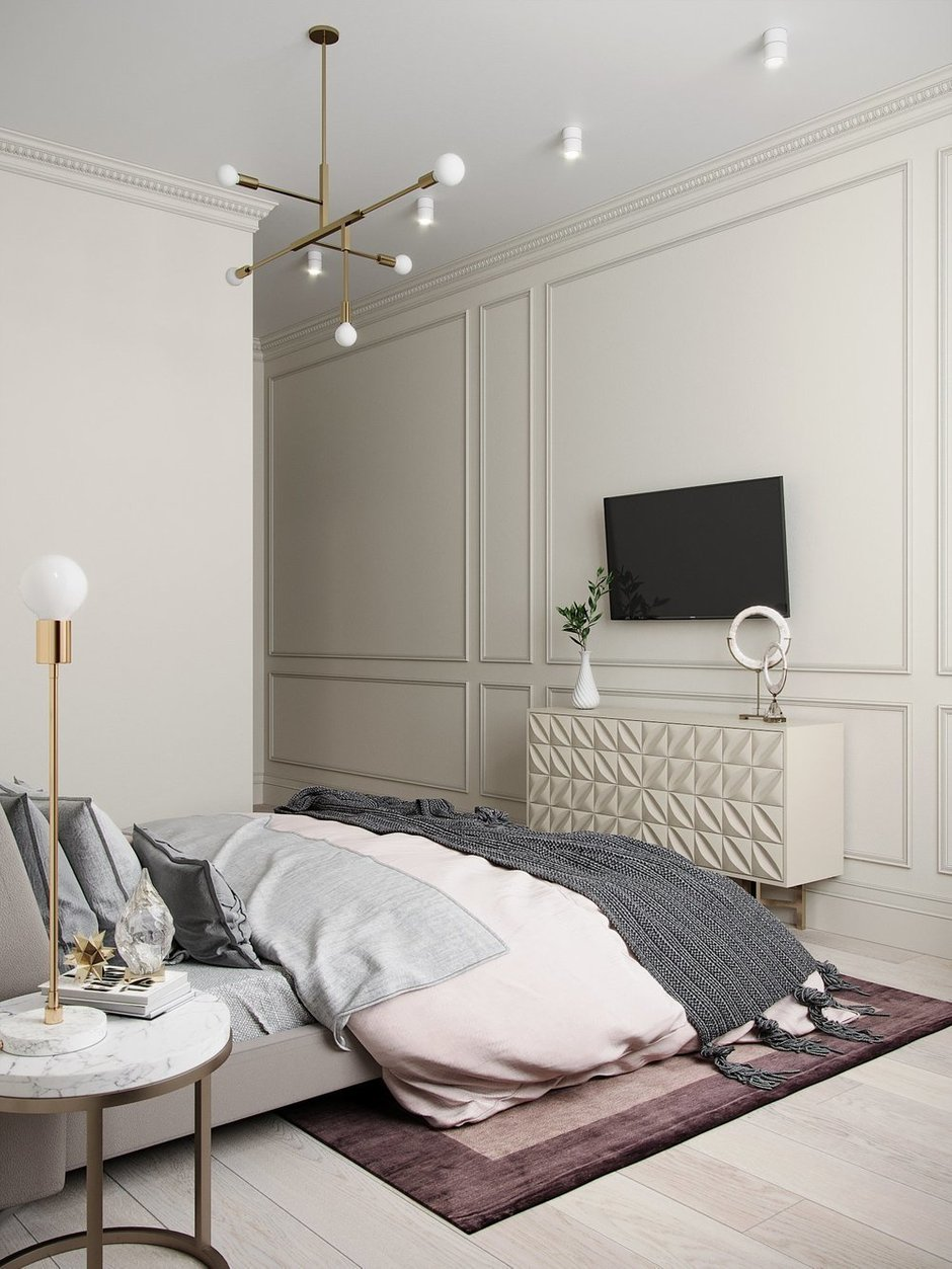 Фотография: Спальня в стиле Современный, Декор интерьера, Елена Иванова, #хочумогу – фото на INMYROOM
