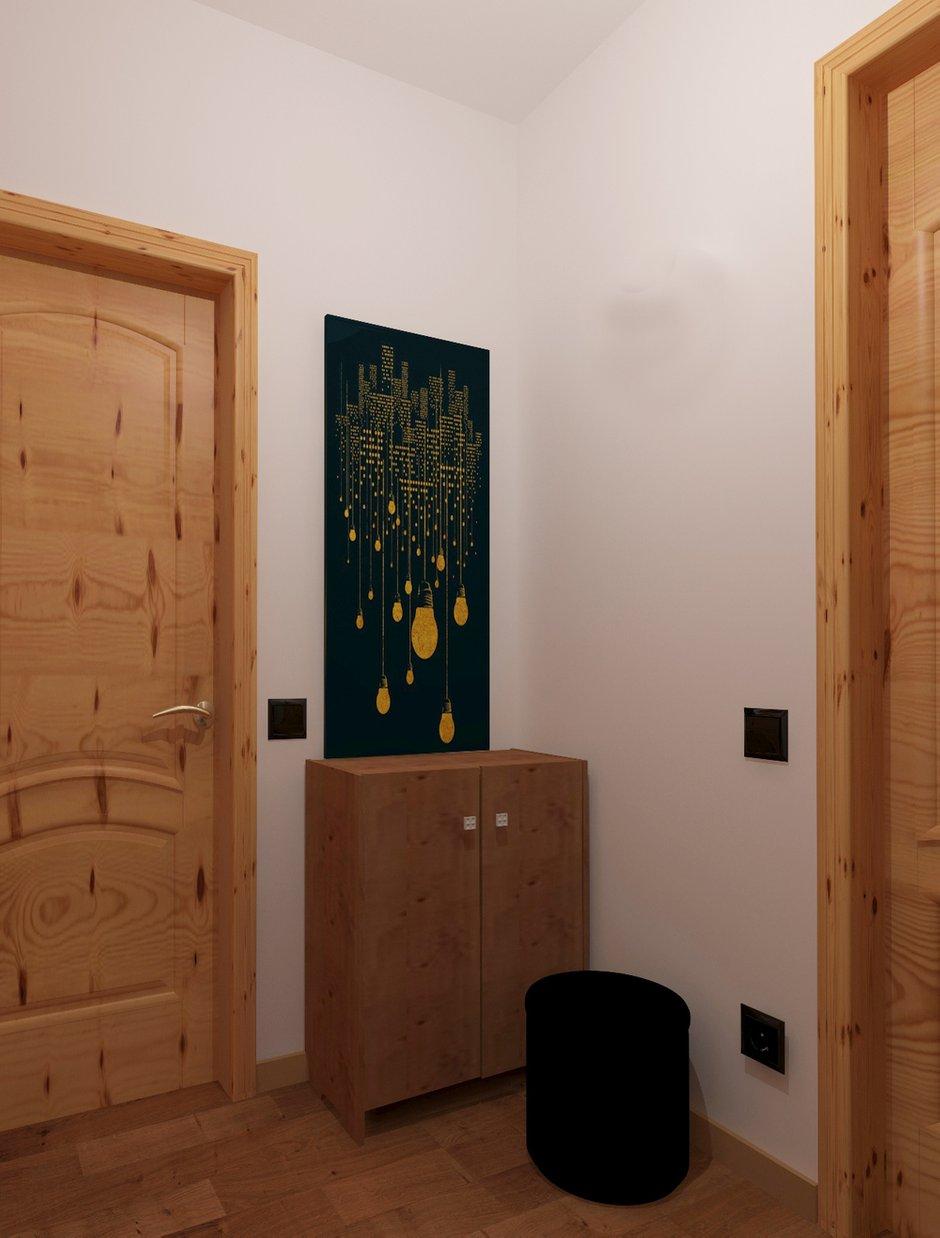 Фотография:  в стиле , Квартира, Минимализм, Проект недели, Эко, Московская область, Марина Козлова, новостройка, Монолитный дом, 1 комната, 40-60 метров – фото на INMYROOM