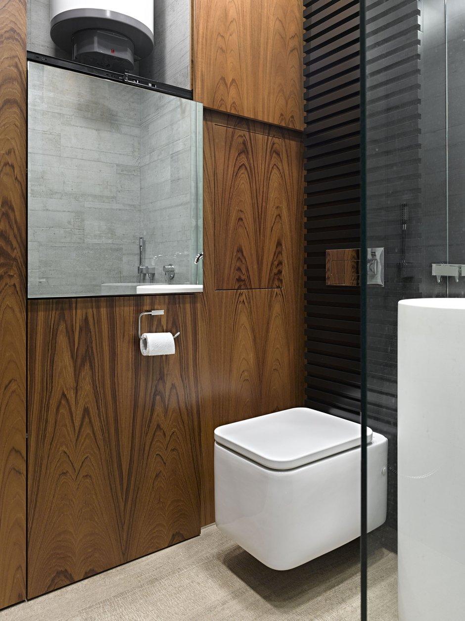 Фотография: Ванная в стиле Современный, Эко, Малогабаритная квартира, Квартира – фото на INMYROOM