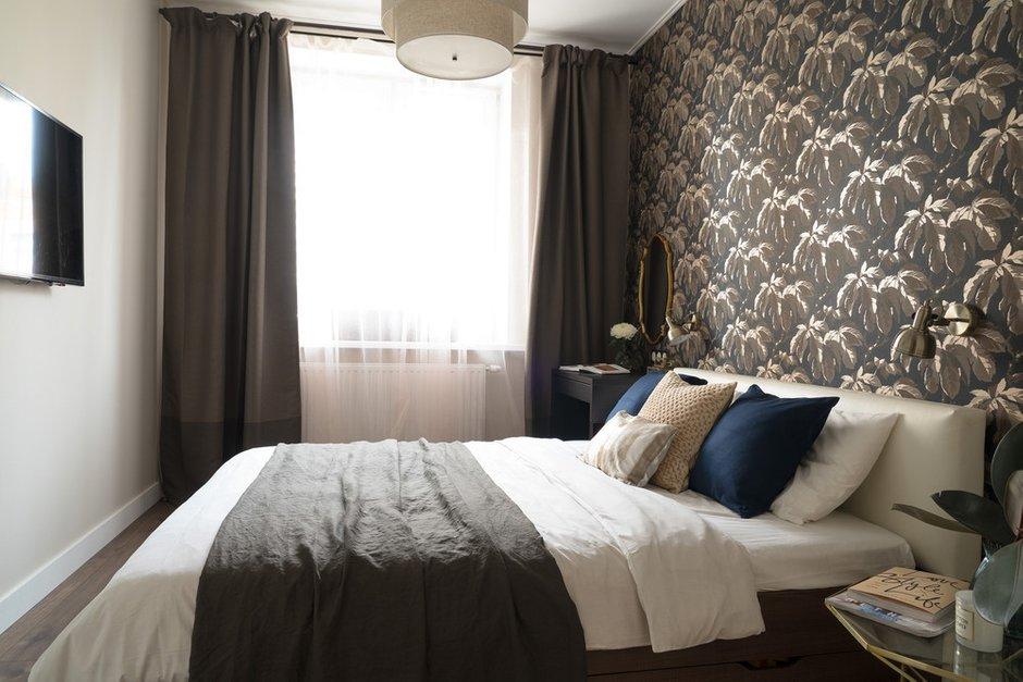 Фотография: Спальня в стиле Современный, Квартира, Перепланировка, Санкт-Петербург, Светлана Гаврилова, Монолитный дом, 3 комнаты, 60-90 метров – фото на INMYROOM