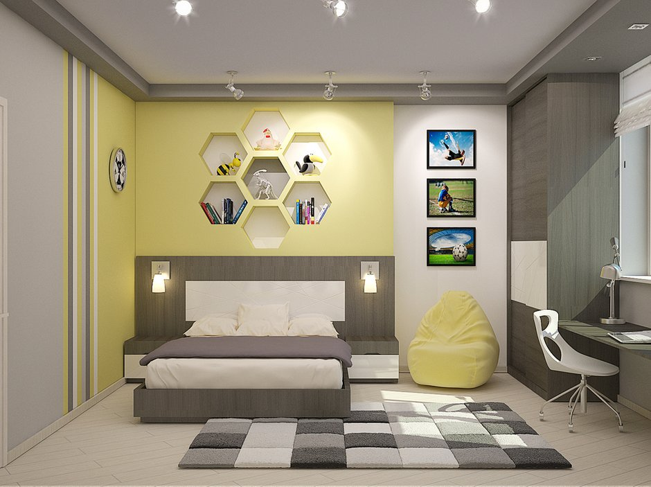 Фотография: Детская в стиле Современный, Эклектика, Декор интерьера, Дом, Massive, Дома и квартиры, Проект недели, B&B Italia – фото на INMYROOM