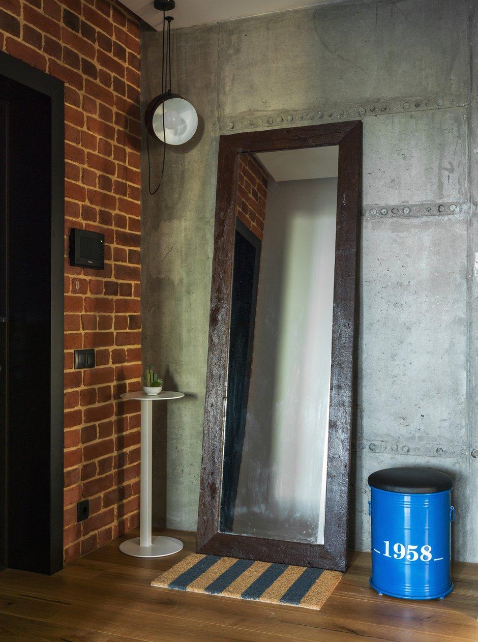 Фотография: Прихожая в стиле Лофт, Современный, Квартира, Проект недели, Geometrium, Монолитный дом, 2 комнаты, 60-90 метров, ЖК «Сколковский» – фото на INMYROOM