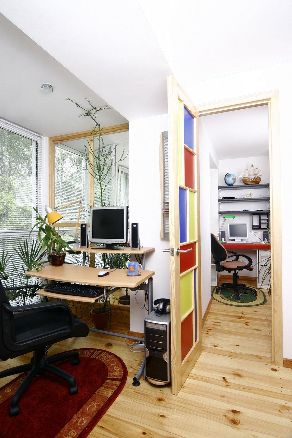 Фотография: Офис в стиле Современный, Дом, Дома и квартиры – фото на INMYROOM