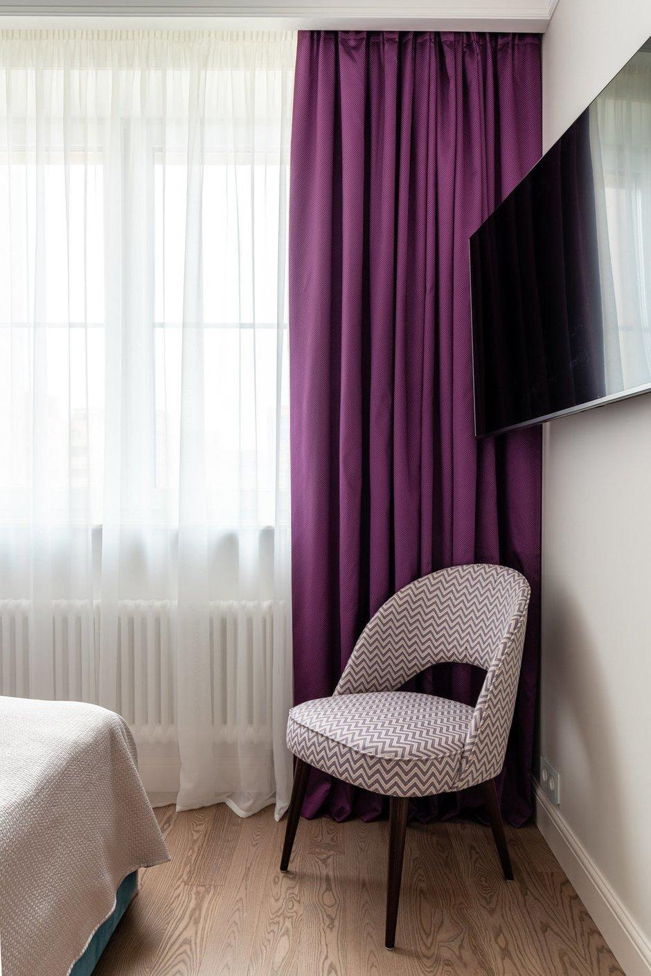 Фотография: Спальня в стиле Классический, Современный, Квартира, Проект недели, Реутов, Монолитный дом, 2 комнаты, 40-60 метров, Наталья Широкорад – фото на INMYROOM