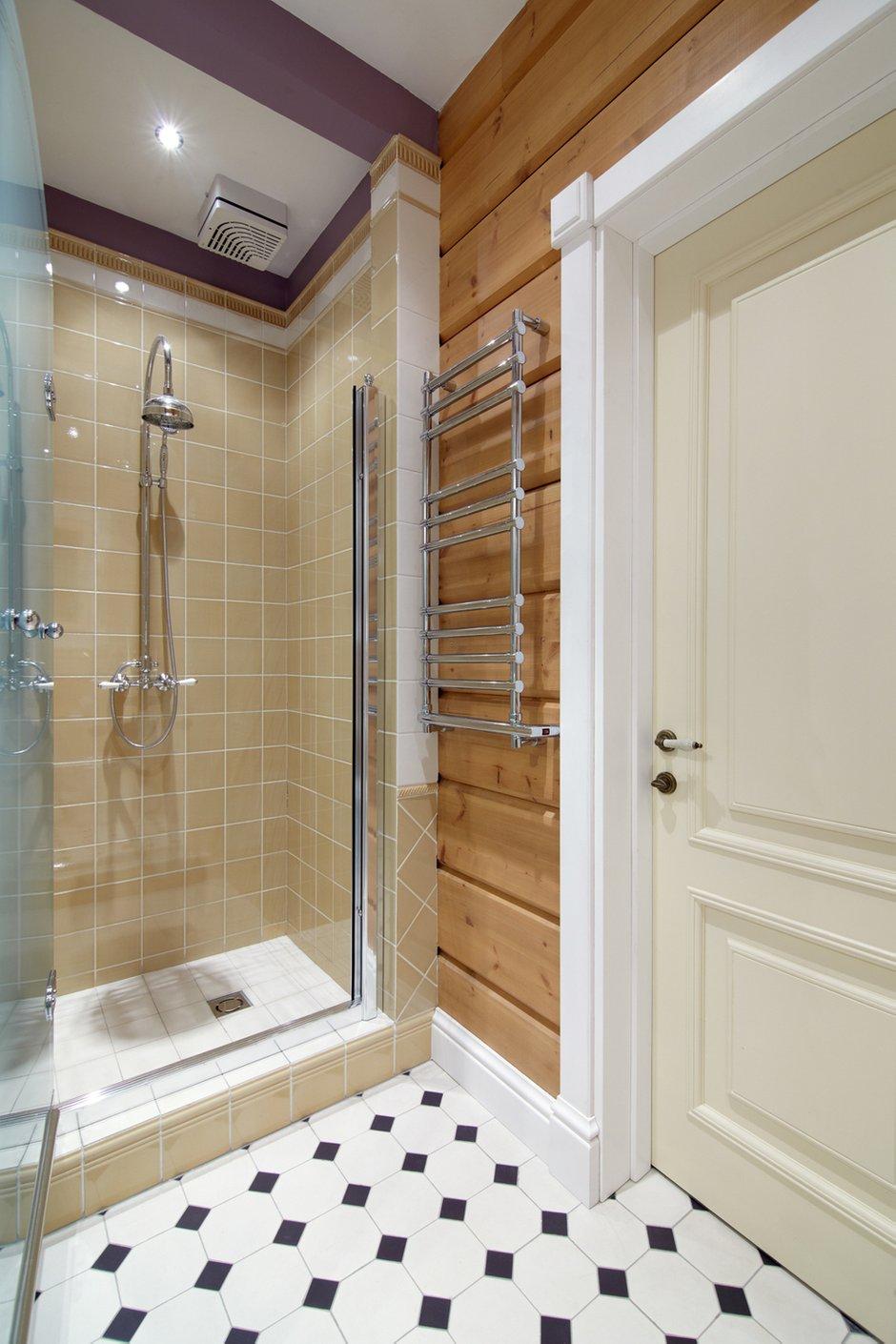 Фотография: Ванная в стиле Современный, Дом, Дома и квартиры, Проект недели, Дача, dom-iz-brusa – фото на INMYROOM
