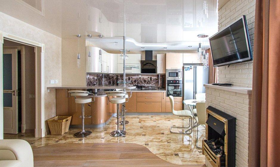 Фотография: Кухня и столовая в стиле Современный, Хай-тек, Классический, Квартира, Проект недели – фото на INMYROOM