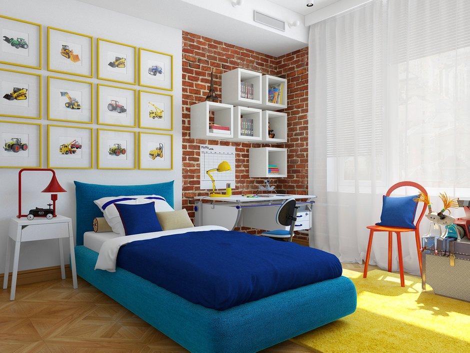 Фотография: Детская в стиле Лофт, Квартира, Дома и квартиры – фото на INMYROOM