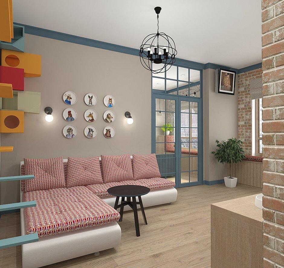 Фотография: Гостиная в стиле Скандинавский, Квартира, Проект недели, Zi-Design Interiors – фото на INMYROOM