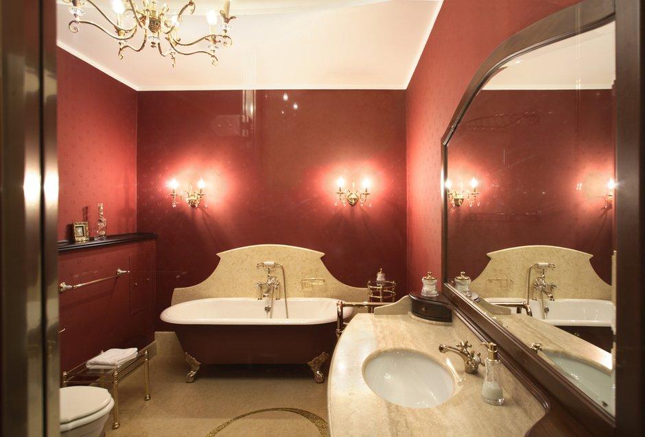 Фотография: Ванная в стиле Классический, Современный, Квартира, Дома и квартиры, Модерн, Ар-нуво – фото на INMYROOM
