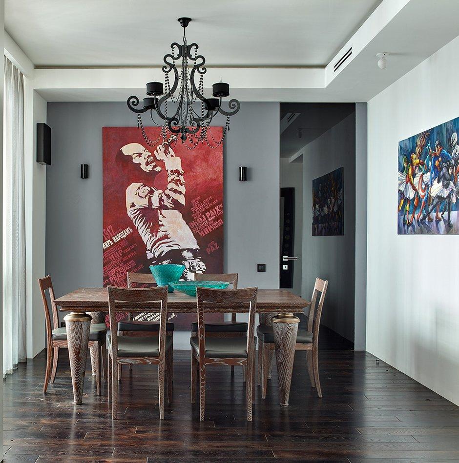 Фотография: Кухня и столовая в стиле Эклектика, Квартира, Проект недели, Москва, Елена Семенова – фото на INMYROOM
