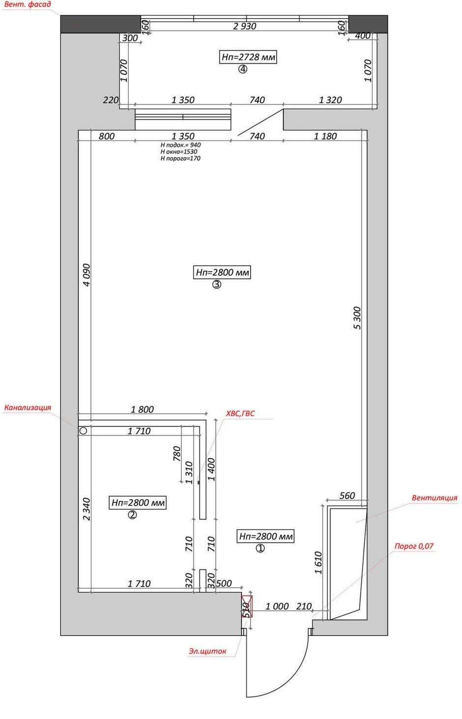 Фотография:  в стиле , Современный, Квартира, Перепланировка, 1 комната, до 40 метров, Диана Бганова – фото на INMYROOM