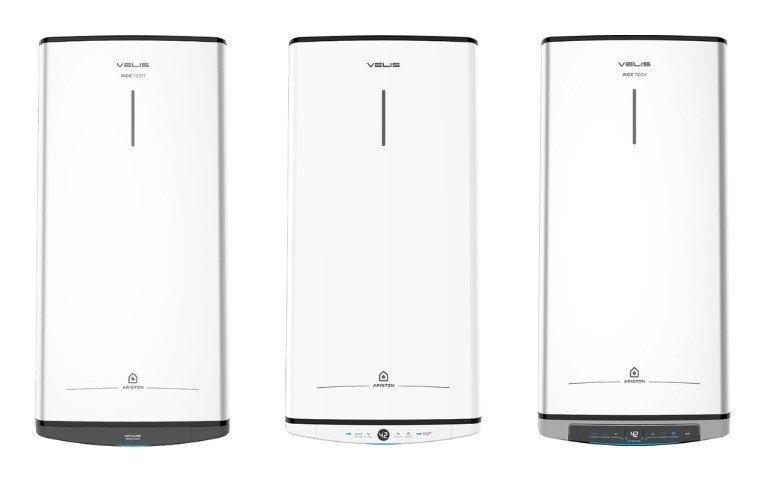 Электрический водонагреватель Ariston ABS VLS PRO INOX R/ Электрический водонагреватель Ariston VELIS TECH PW ABSE/ Электрический водонагреватель Ariston VELIS LUX INOX PW ABSE WIFI