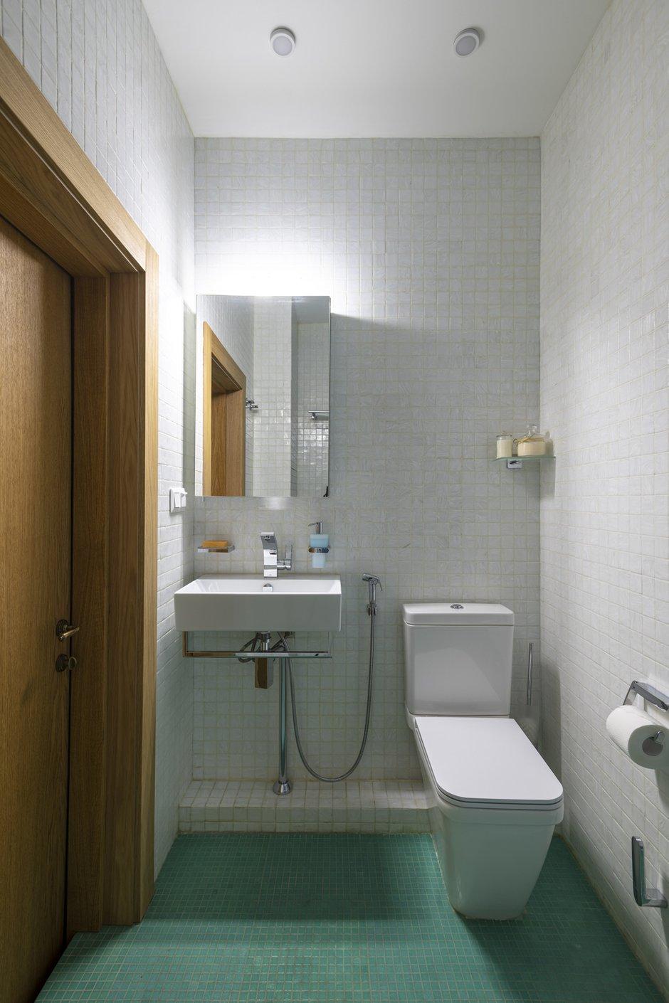 Фотография: Ванная в стиле Современный, Квартира, Проект недели, Москва, Марина Саркисян, 2 комнаты, 40-60 метров – фото на INMYROOM
