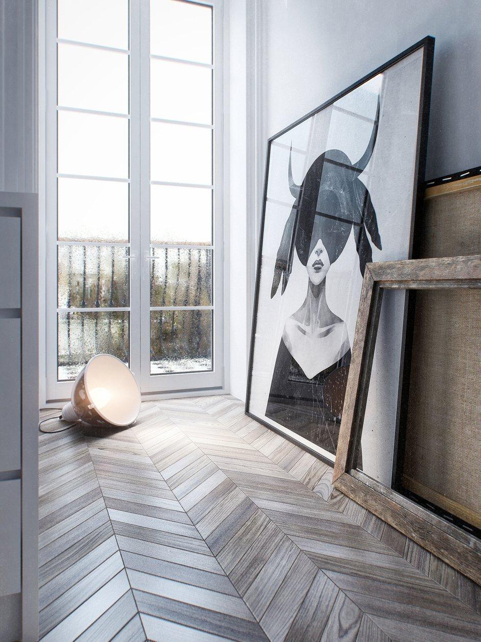 Фотография: Декор в стиле Лофт, Скандинавский, Квартира, Минимализм, Проект недели – фото на INMYROOM