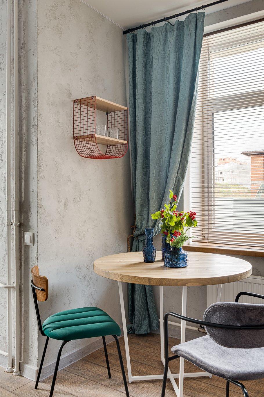 Фотография: Кухня и столовая в стиле Лофт, Малогабаритная квартира, Квартира, Студия, Проект недели, Красногорск, до 40 метров, Элина Богомолова – фото на INMYROOM