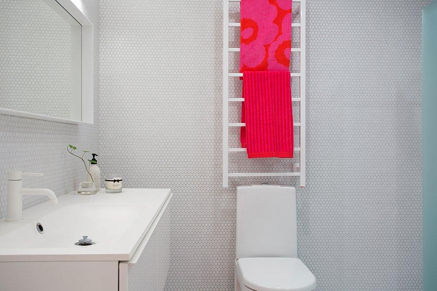 Фотография: Ванная в стиле Скандинавский, Современный, Квартира, Дома и квартиры, Стокгольм – фото на INMYROOM